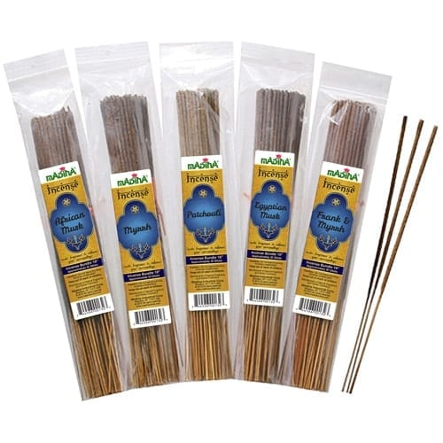19 inch incense sticks (30 count in package) 3 hour burn each